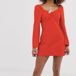 COLLUSION Red Dress
